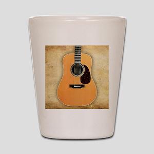 Acoustic Guitar (square) Shot Glass