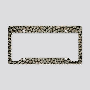 Sunflower seed head License Plate Holder