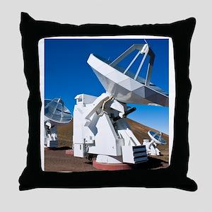 Submilllimeter Array telescopes, Hawa Throw Pillow