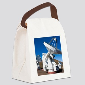 Submilllimeter Array telescopes,  Canvas Lunch Bag