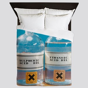 Sulphuric and ethanoic acid Queen Duvet