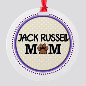 Jack Russell Dog Mom Ornament