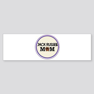 Jack Russell Dog Mom Bumper Sticker
