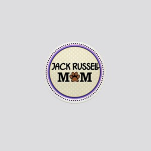 Jack Russell Dog Mom Mini Button