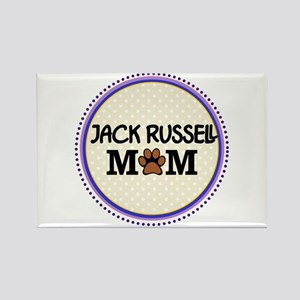 Jack Russell Dog Mom Magnets