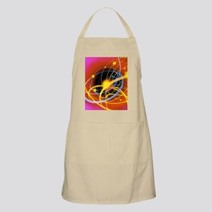 Subatomic particles abstract Apron