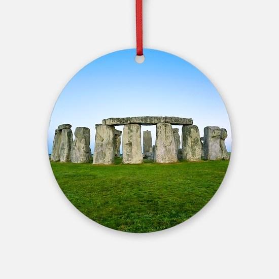 Stonehenge Round Ornament