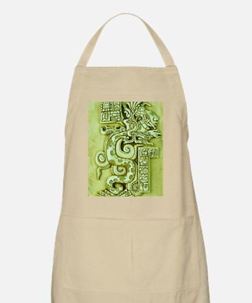 MAYAN SERPENT GOD Apron