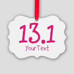 Customize PINK 13.1 Picture Ornament