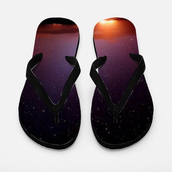 Stars in a night sky Flip Flops