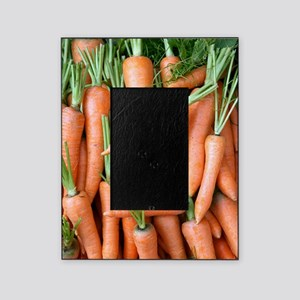 Stack of orange carrots Picture Frame