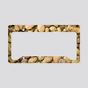 Sprouting potatoes License Plate Holder