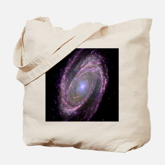 Spiral galaxy M81, composite image Tote Bag