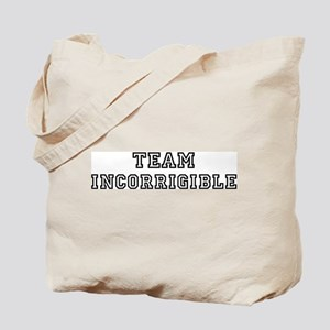 Team INCORRIGIBLE Tote Bag