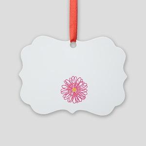 School Nurse Choose Joy Picture Ornament