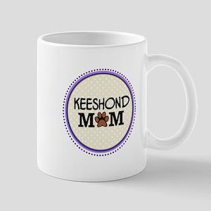 Keeshond Dog Mom Mugs