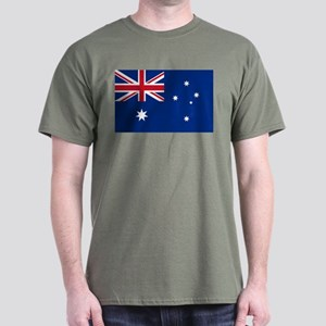 Australia Flag Dark T-Shirt