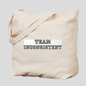 Team INCONSISTENT Tote Bag