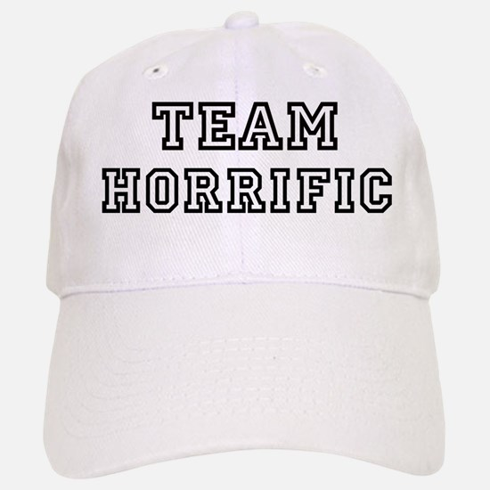 Team HORRIFIC Baseball Baseball Cap