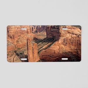 Spider rock, Arizona Aluminum License Plate