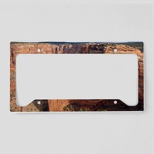 Spider rock, Arizona License Plate Holder