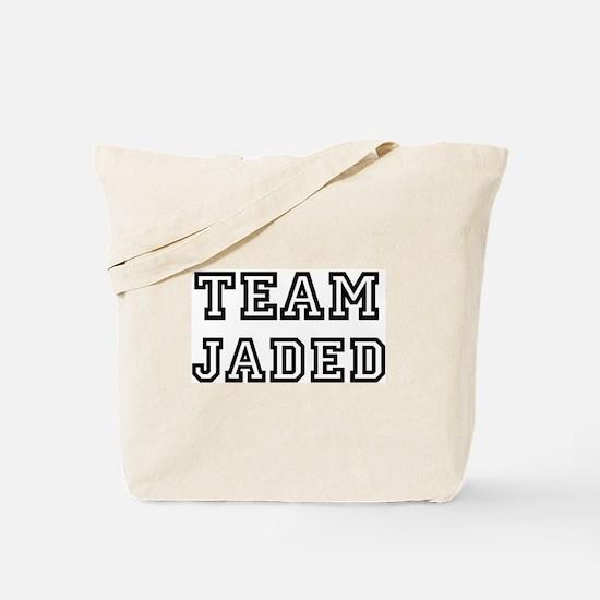 Team JADED Tote Bag