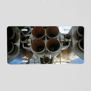 Soyuz A-2 rocket nozzles Aluminum License Plate