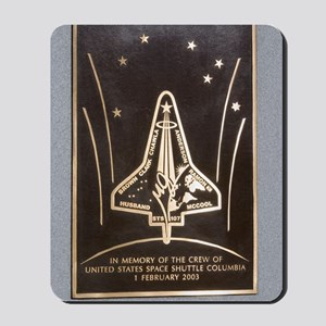 Space Shuttle Columbia memorial Mousepad