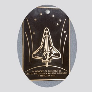 Space Shuttle Columbia memorial Oval Ornament