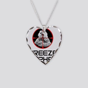 Caddyshack Freeze Gopher Necklace Heart Charm