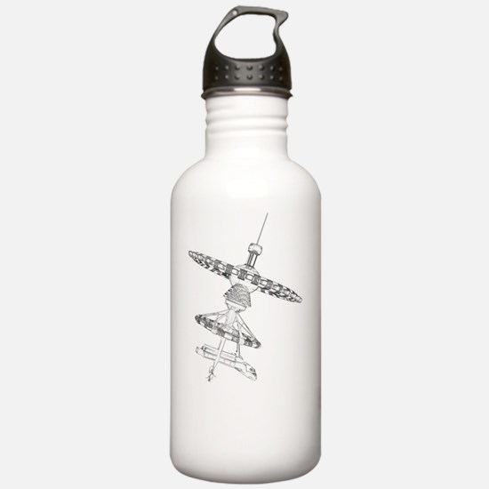 Space hotel, artwork Water Bottle