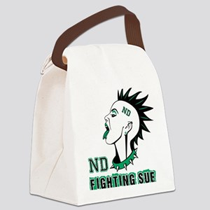 Fighting Sue Canvas Lunch Bag