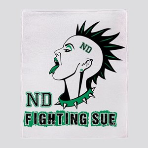 Fighting Sue Throw Blanket