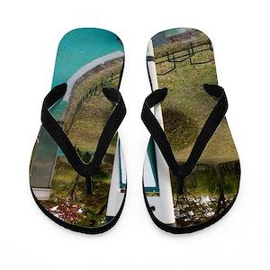 c6952a676166ad Public Health Flip Flops - CafePress