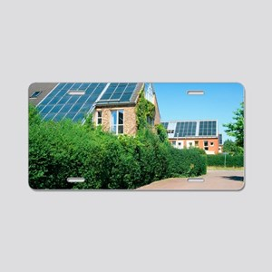 Solar technology, Germany Aluminum License Plate