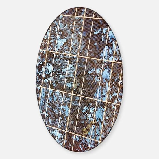 Solar panel Sticker (Oval)