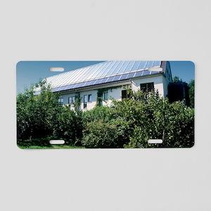 Solar heat collectors, Germ Aluminum License Plate