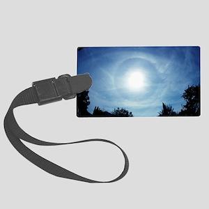 Solar halo Large Luggage Tag