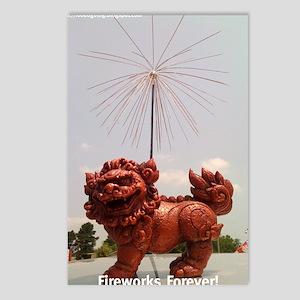 Firework Foo Postcards (Package of 8)