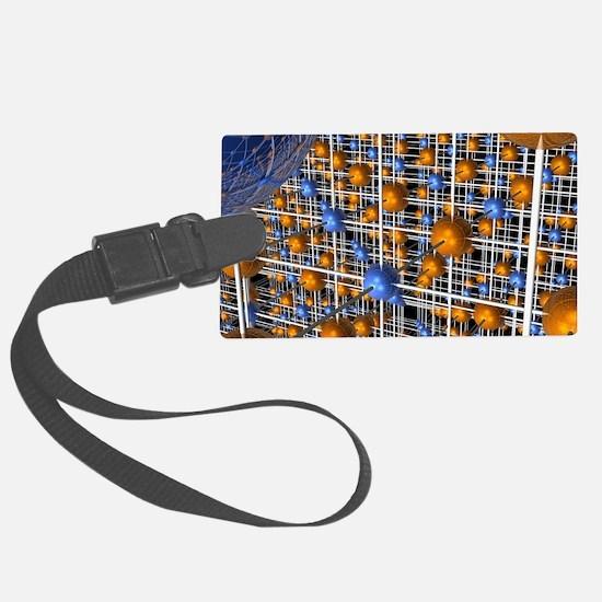 Sodium chloride lattice Luggage Tag