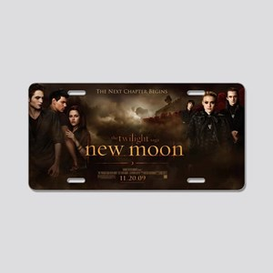 NEW MOON Aluminum License Plate
