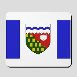Northwest Territories Flag Mousepad