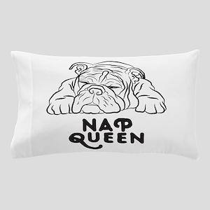 Napping Bulldog Pillow Case