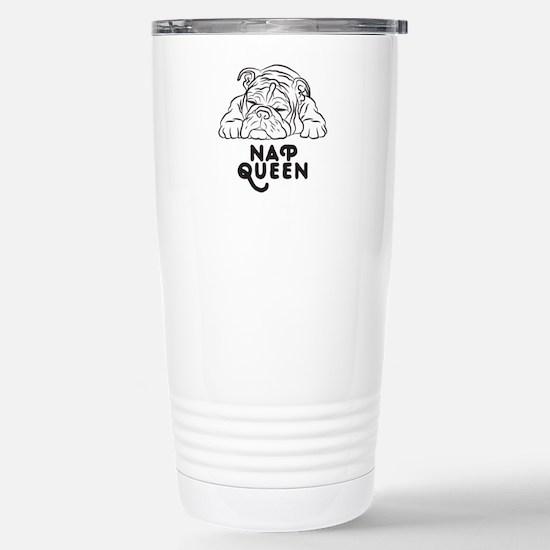 Napping Bulldog Mugs