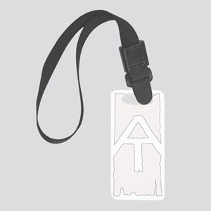 Appalachian Trail White Blaze Small Luggage Tag