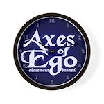 Axes of Ego Wall Clock