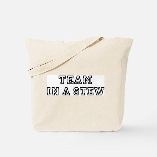 Team IN A STEW Tote Bag