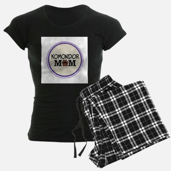 Komondor Dog Mom Pajamas