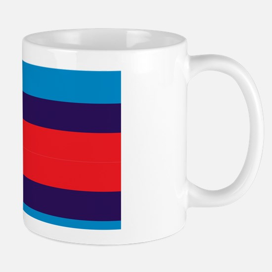 M Car Stripe 6in Mug