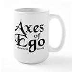 Axes of Ego Large Mug